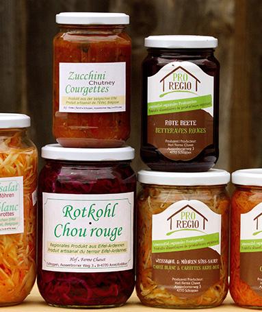 Aliment vendu dans le magasin Unis Verts Paysans de Malmedy